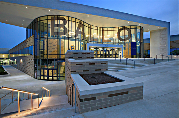 image of Ballou Knights High School exterior in Washington, DC